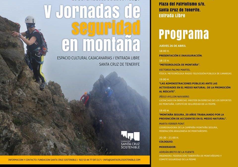 V Jornadas de Seguridad en Montaña