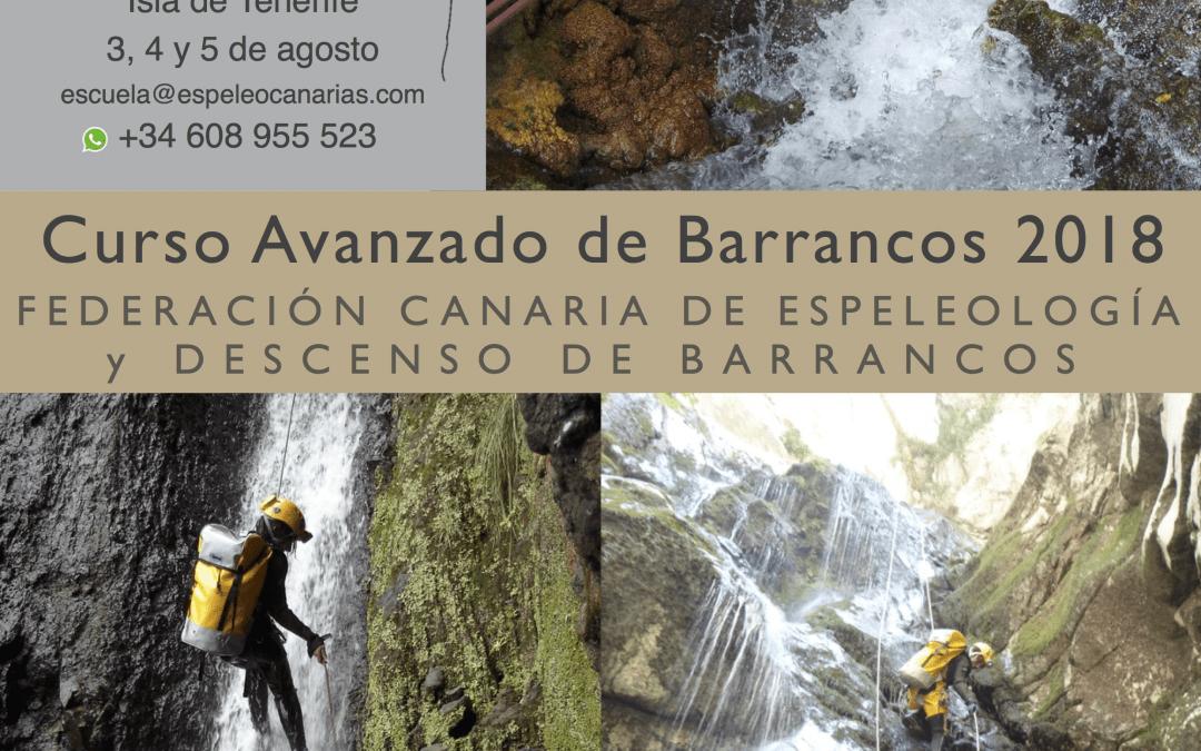 Curso Avanzado de  Descenso de Barrancos