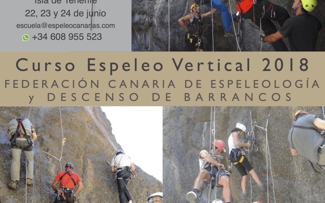 Curso de Espeleología Vertical